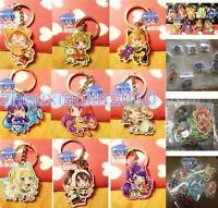 Love Live! Japan Anime Minami Kotori One Side Acrylic Figure Key Ring Chains