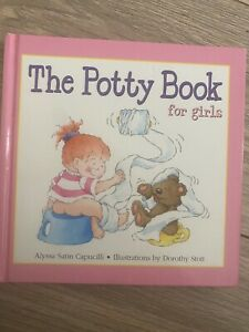 Girls potty training story book
