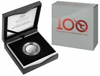 AUSTRALIA 2020 $1 QANTAS 100 YEARS COIN PACK on CARD #1 WORLD/'S SAFEST AIRLINE