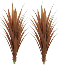 2 ARTIFICIAL YUCCA IN OUTDOOR PALM TREE BUSH 4' PLANT ARRANGEMENT PATIO POOL 52""