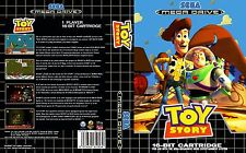 Toy Story Sega Megadrive PAL EU Replacement Box Art Case Insert Reproduction