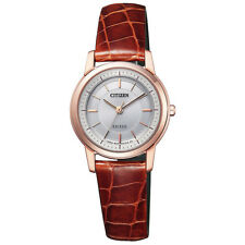 CITIZEN EXCEED Eco-Drive EX2072-16A Slim Women's Watch New in Box