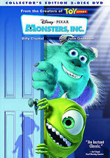 Monsters, Inc. DVD 2-Disc Set Factory sealed comes with Slipcover Free shipping