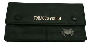 Cancer The Crab Leather Tobacco Pouch Pocket Sized Smokers Gift 59