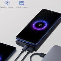 Xiaomi Power Bank Wireless Charger Qi Fast 10000mAh QC3.0 External Charging Pad