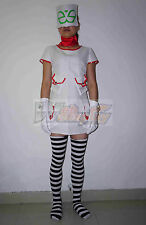 Noodle from Gorillaz Cosplay Costume Custom Made