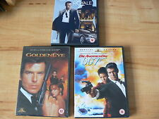 James Bond Goldeneye/Die Another Day (2 disc special ed)/Casino Royale  3 movies