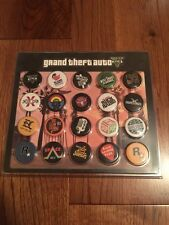 Grand Theft Auto GTA V Radio Station Pins Promo Rare Limited Official Pin Set