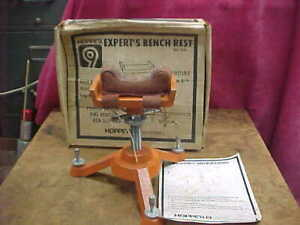Vintage HOPPES EXPERTS 3000 BENCH RIFLE REST with Box