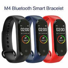M4 смарт-ремешок для часов сердечного ритма кровяное давление монитор Фитнес трекер браслет
