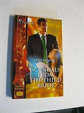 Scandals from the Third Bride by Sara Orwig (2006, Paperback)