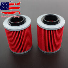 2x Oil Filter for Can-Am Outlander 330 400 450 500 570 650 800 850 1000 03-17