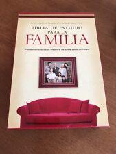 Biblia de Estudio para la Familia-NVI : Fundamentos de la Palabra de Dios Para
