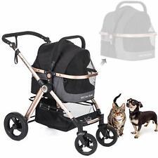 New listing Hpz, Medium, 3 in 1 Pet Stroller, Black