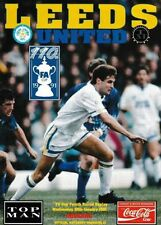 FA Cup Home Team Leeds United Football Programmes