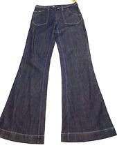 Roxy Junior Womens Size 5 San-O Wide Leg Fit Blue Jeans New