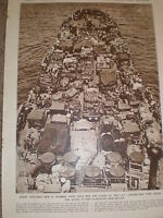 Photo article US Marines Landing ship tank for Cape Gloucester New Britain 1944