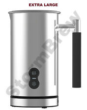 EXTRA LARGE 500ml STAINLESS STEEL ELECTRIC MILK FROTHER & WARMER / FOAMER