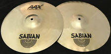 """14"""" SABIAN AAX X-CELERATOR HI-HAT CYMBALS - SWEET HATS"""