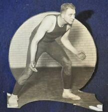 1929 Charles Urban University Penn Wrestler & Football Player Press Photo
