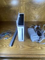 Nintendo Wii Console & Cords Tested Working & Reset RVL-001 Gamecube