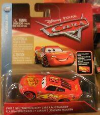 2018 C CASE Mattel Disney Pixar Cars 3 Lightning McQueen & Collector Card