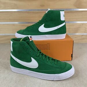 Nike Blazer Mid 77 Suede Green New Shoes CI1172-301 Mens Size 10