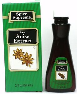 Spice Supreme® PURE ANISE EXTRACT new fresh USA MADE spices baking cooking SPICE