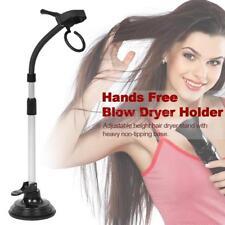 Hands Free Salon Blow Dryer Holder Adjustable Height Hair Dryer Stand K9G4