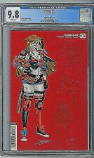 Batman # 97 Harley Quinn 1:25 Variant Cover CGC 9.8 2020 Joker War