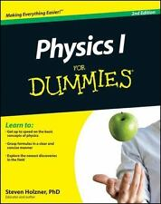 PHYSICS I FOR DUMMIES By Steven Holzner *Excellent Condition*