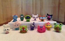 Moshi Monsters set of 13 Series One Moshling Figures incl 1 ULTRA RARE Dragon