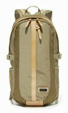 New $180 Master-Piece Over-NC Teardrop Beige Nylon Men's Backpack -Made in Japan