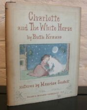 Charlotte and the White Horse - SIGNED M. Sendak 1st ed., Ruth Krauss, 1955