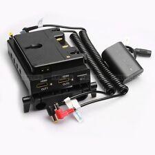 Anton Bauer Gold Mount Battery HDMI Splitter Power Station fr 15mm Rod DSLR Rig