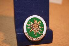 Pin  Wehrmacht Heeresbergführer  Edelweiss  Metall Neu   246