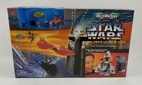 Star Wars Micro Machines Boba Fett Cloud City Transforming Set Galoob 1996 NIB