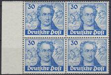 Berlin 63 ** 200. Geburtstag von Goethe, postfrischer Randviererblock