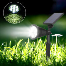 Solar Powered Spotlight Outdoor Garden Lawn Landscape Waterproof 7 LED Lamp