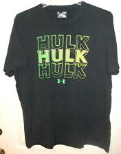 Under Armour 1273463 The Hulk Tactical Charged Cotton Black Loose T-Shirt Xl