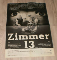 Filmplakat DDR ,Progress  ZIMMER 13 ,EDGAR WALLACE,Joachim Fuchsberger