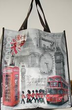 London Print Shopping Bag