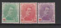 FRANCOBOLLI - 1914 BELGIO PRO CROCE ROSSA MLH Z/9593