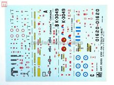 "Esci 9086 Vintage Decals CRF-5A ""Re Cold Lake"" 1:72 modelado"