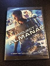 Project Almanac DVD disk/case/imperfect cover only-no digital 2015 prev view