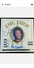 Dr. Dre Signed The Chronic Vinyl Album   Authentic Autograph   JSA LOA Certified