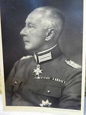 Autograph Original Unterschrift Kronprinz Wilhelm an Major Weihnachten 1937 Rar