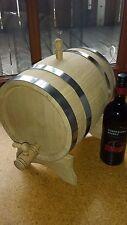 Weinfass Holzfass Eichenfass Schnapsfass mit Bock und Hahn 10 l Liter
