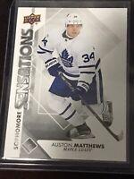 2017-18 Upper Deck Sophomore Sensations Auston Matthews #SO-AM Maple Leafs