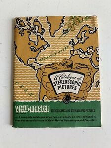 1947 Viewmaster Catalogue Of Stereoscopic Pictures